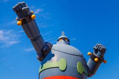 Robot de Gigantor (Tetsujin 28) à Kobe, Japon Image stock
