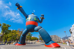 Robot de Gigantor (Tetsujin 28) à Kobe, Japon Photographie stock libre de droits