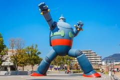 Robot de Gigantor (Tetsujin 28) à Kobe, Japon Photos libres de droits