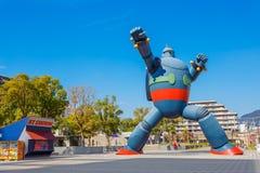 Robot de Gigantor (Tetsujin 28) à Kobe, Japon Images libres de droits