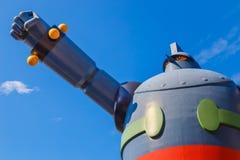 Robot de Gigantor (Tetsujin 28 disparaissent) Images libres de droits
