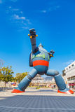 Robot de Gigantor (Tetsujin 28 disparaissent) Photos libres de droits