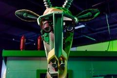 Robot de girafe Photo libre de droits