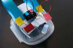 Robot de la basura fotos de archivo libres de regalías