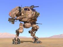 Robot de la batalla fotos de archivo