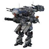 Robot de la batalla Foto de archivo libre de regalías