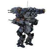 Robot de la batalla Fotografía de archivo
