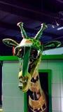 Robot de la jirafa Foto de archivo libre de regalías