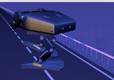 - Robot de marche de combat photo 5 Photographie stock libre de droits