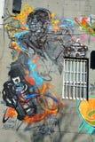 Robot de Montréal d'art de rue Photographie stock libre de droits
