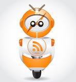 Robot de Rss libre illustration
