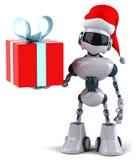 Robot de Santa illustration libre de droits
