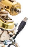 Robot de Steampunk Image stock