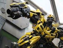 Robot de transformateur Images stock