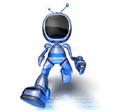 Robot de TV Photographie stock libre de droits