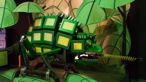 Robot del camaleón Imágenes de archivo libres de regalías