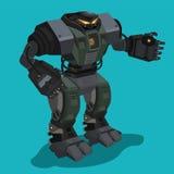 Robot del carattere Immagini Stock