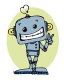 Robot del fumetto Fotografie Stock