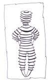 Robot del fumetto Fotografie Stock Libere da Diritti