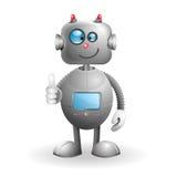 Robot del fumetto Fotografia Stock