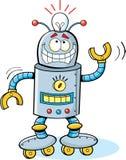 Robot del fumetto Immagine Stock