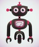 Robot del fumetto Fotografia Stock Libera da Diritti