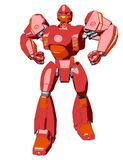Robot del gigante di stile di anime royalty illustrazione gratis
