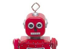 Robot del giocattolo della latta Fotografia Stock Libera da Diritti