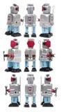 Robot del giocattolo della latta Fotografia Stock
