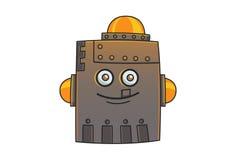 Robot del hierro stock de ilustración