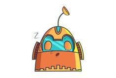 Robot del hierro libre illustration