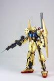 Robot del japonés del oro Fotografía de archivo