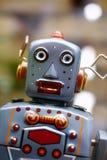 Robot del juguete del vintage imágenes de archivo libres de regalías