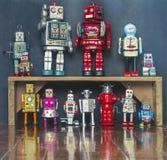 Robot del lavoro di gruppo Immagine Stock