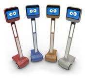 Robot del Telepresence Imagen de archivo libre de regalías