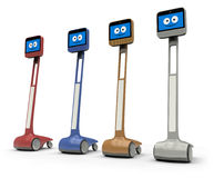 Robot del Telepresence Imagen de archivo