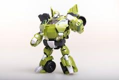 Robot del trasformatore del giocattolo Fotografie Stock Libere da Diritti