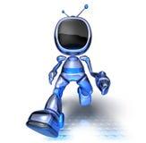Robot della TV Fotografia Stock Libera da Diritti