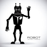 Robot design Royalty Free Stock Images