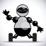 Robot design Royalty Free Stock Photo