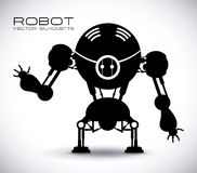 Robot design royalty free illustration