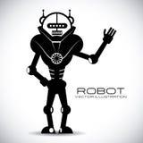 Robot design Royalty Free Stock Photos