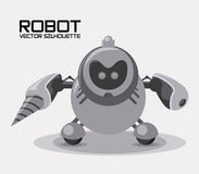 Robot design Stock Image
