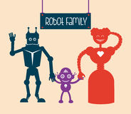 Robot design Stock Images