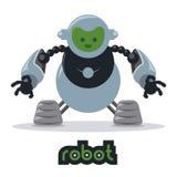 Robot design Royalty Free Stock Image