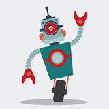 Robot design Royalty Free Stock Photography