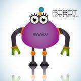 Robot design Stock Image