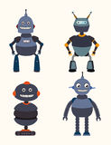 Robot design over white background vector illustration Stock Image
