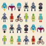 Robot design, vector illustration Royalty Free Stock Photos
