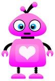 Robot di amore Fotografie Stock Libere da Diritti
